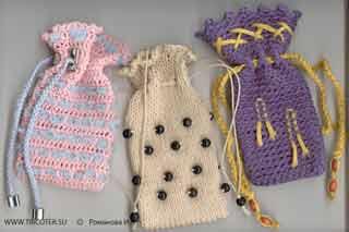 tricoter.su - Спицы - Сумки на спицах.