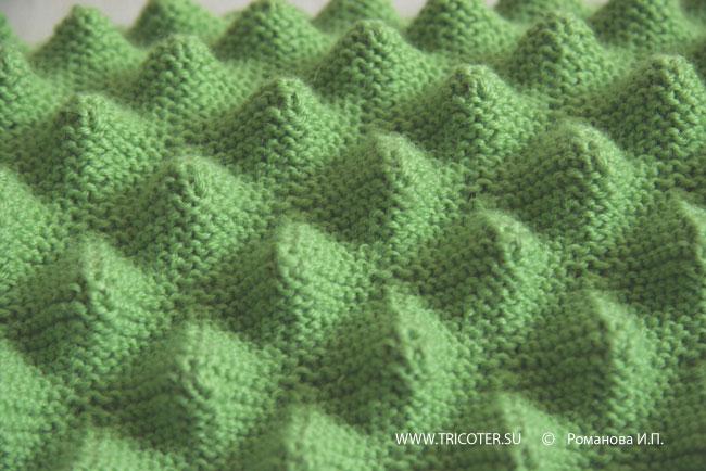 Узоры спицами шарфа с описанием и