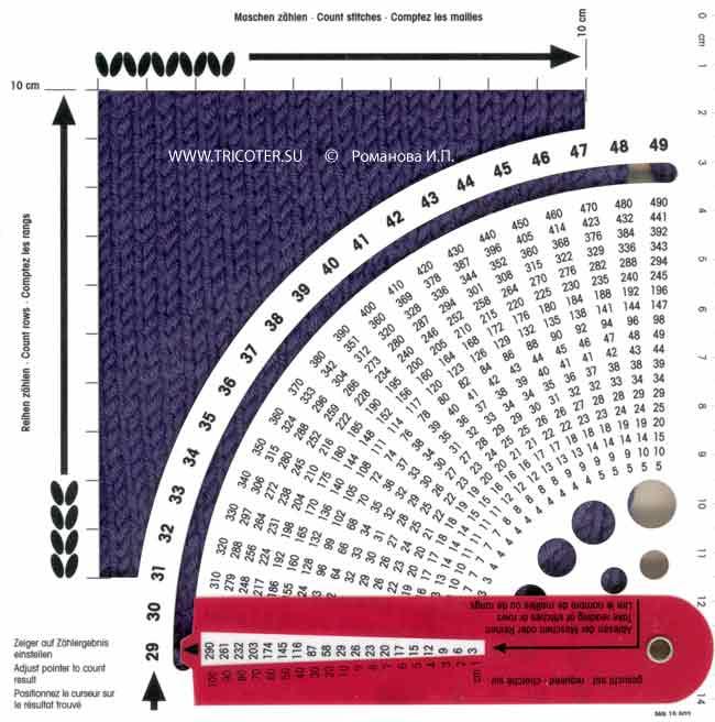 Расчет петель при вязание шапки