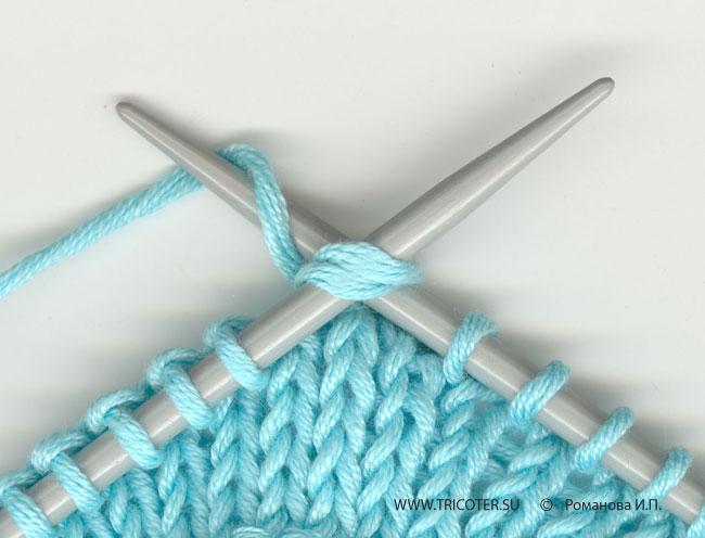 Вязание наклонные петли 29